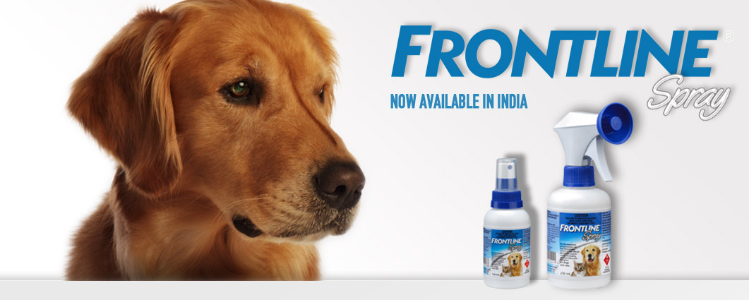 Frontline now available in India